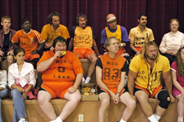 mormon ward basketball team
