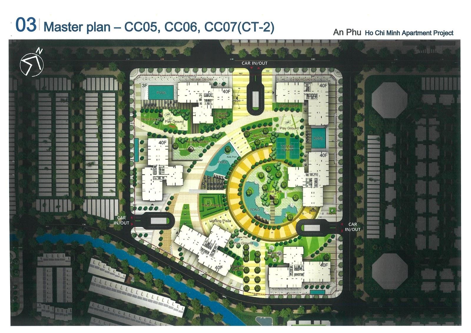 Mặt bằng cụm CT2 dự án Laimian City