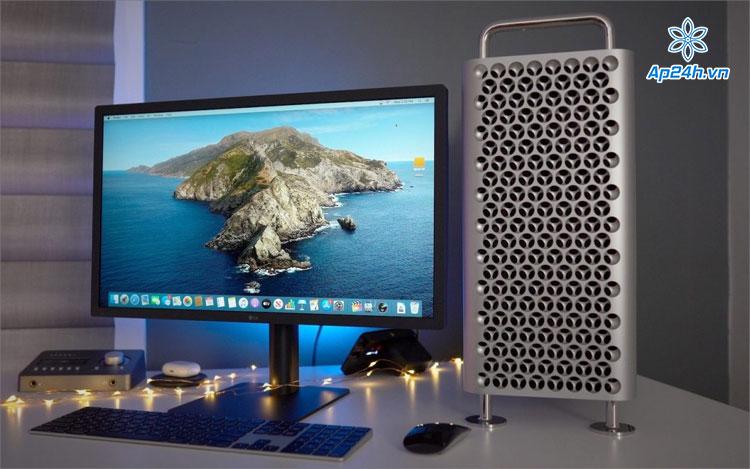 Thiết kế vỏ máy của Mac Pro giống như chiếc nạo rau củ