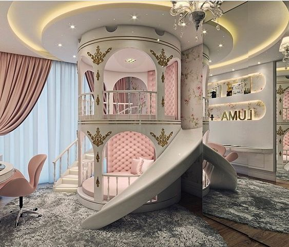 Princess Bedroom for Little Girl