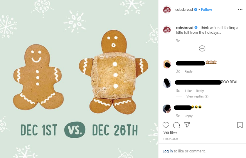Holiday post 2019 - cobsbread