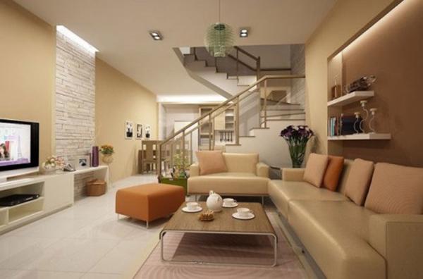Lợi ích thiết kế thi công nội thất phòng khách trọn gói