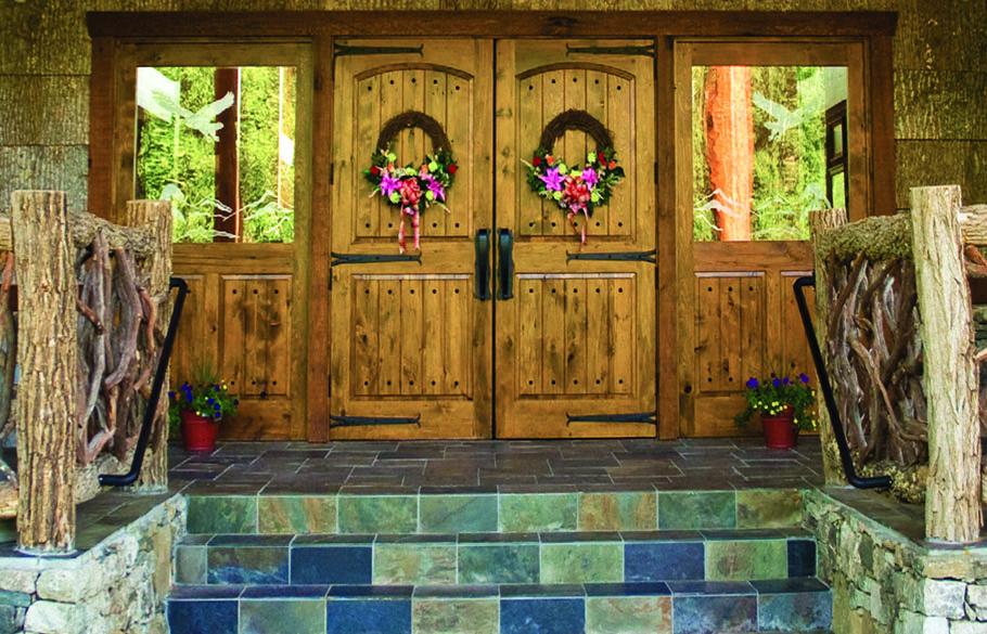 reclaimed barn door repurposing ideas classic elegant french main entrance doors