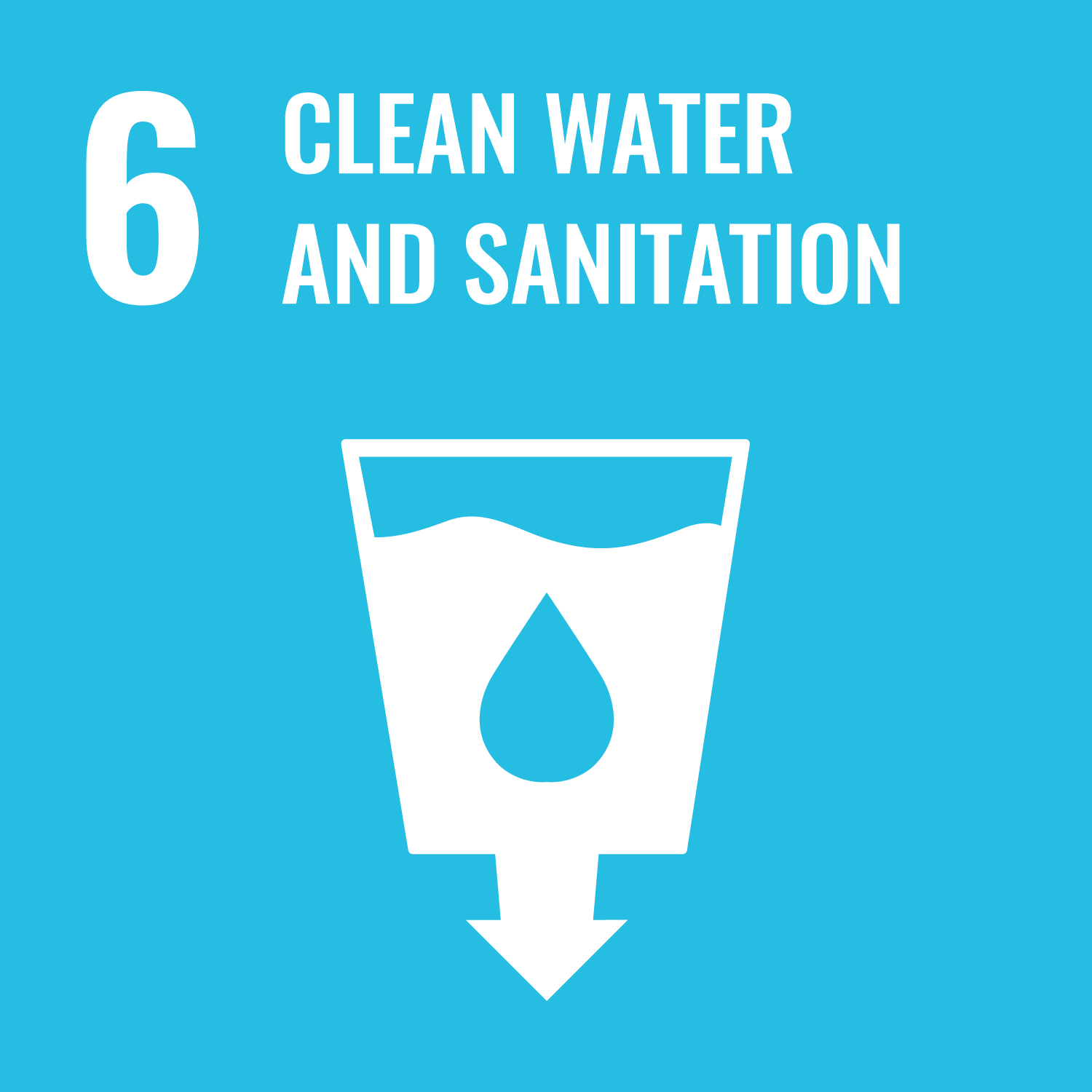 Sustainable Development Goal 6. Ensure availability and sustainable management of water and sanitation for all.