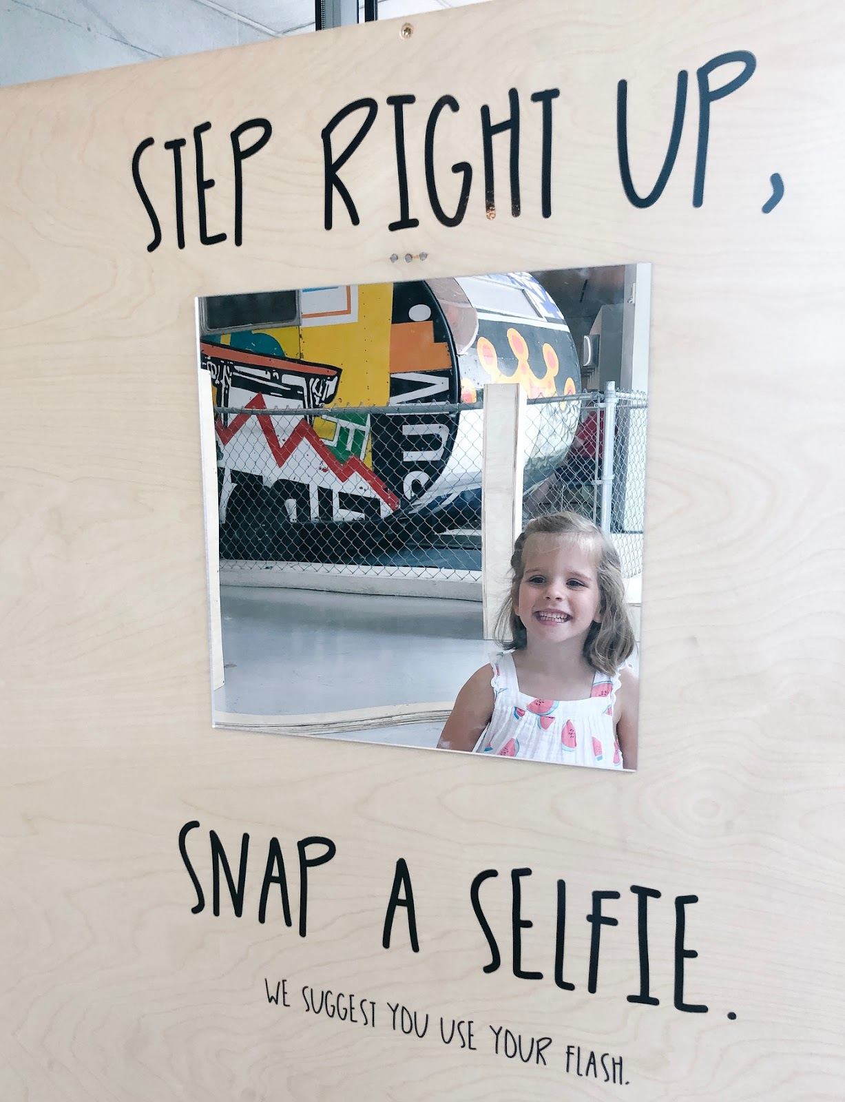 Selfies at the museum
