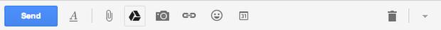 como enviar arquivo pelo Google Drive