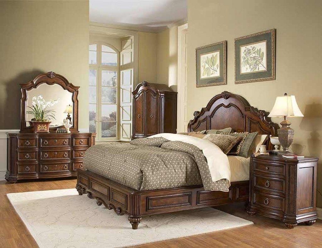 Không gian phòng ngủ với nội thất chọn lọc.