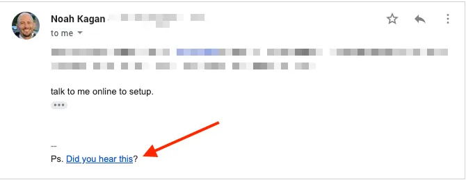 Replace Your Email Signature With a cta to Get More Subscribers For Your Email List