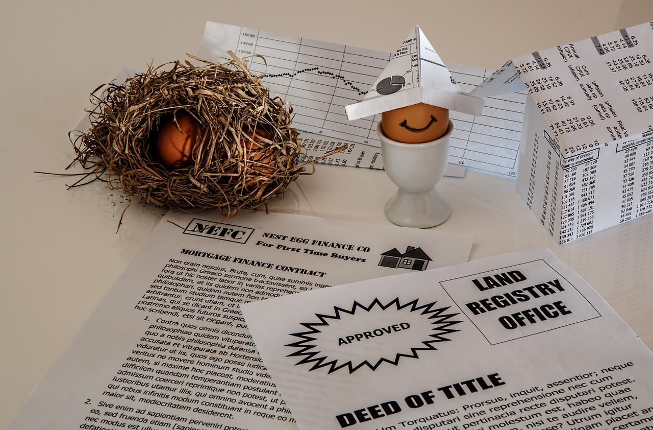 Savings, Real Estate, Mortgage Bond, Mortgage Contract
