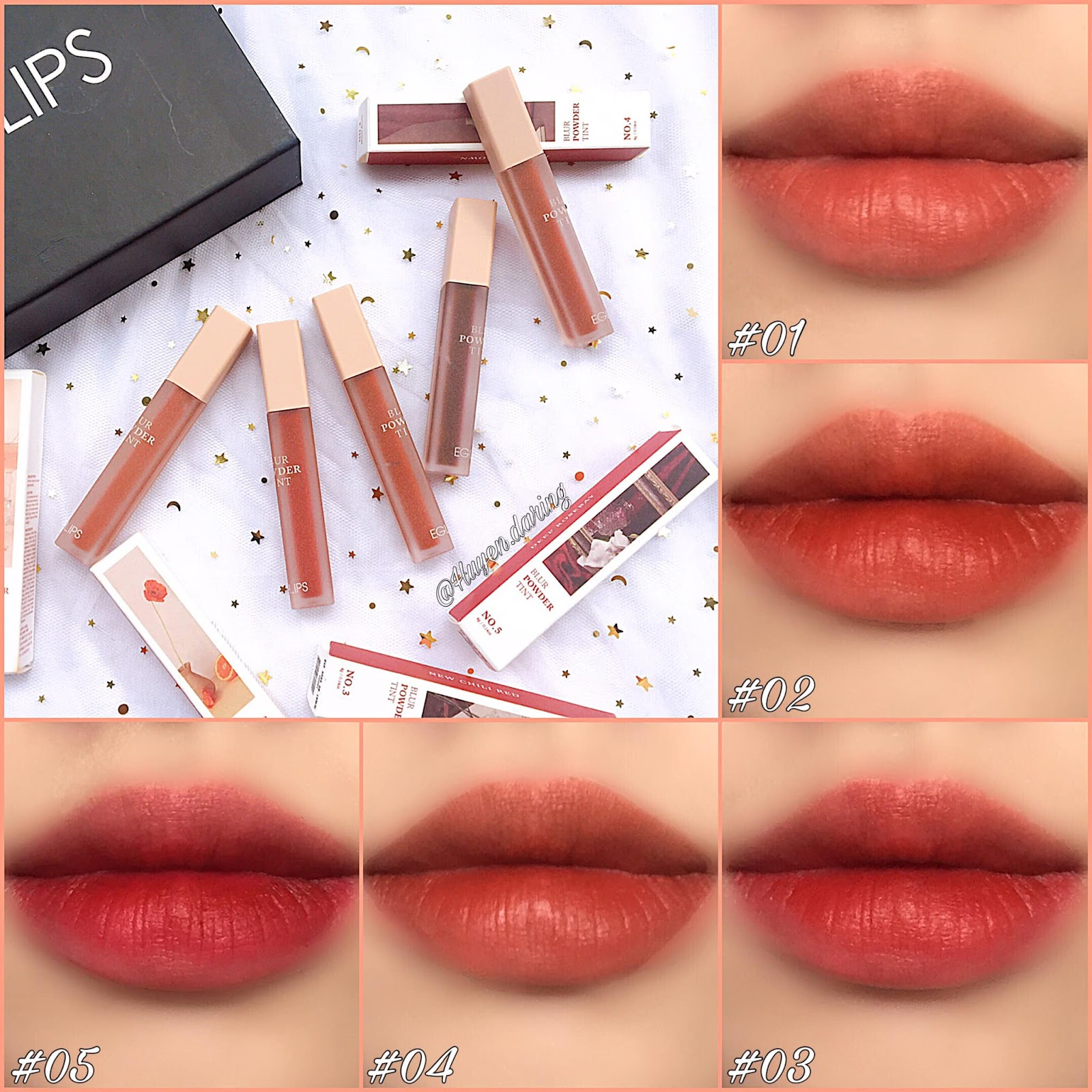 Eglips Blur Powder Tint