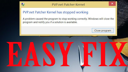 pvp.net patcher kernel dejó de funcionar windows 10