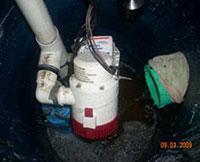 Main water pump