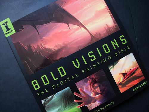 Book Review: Bold Visions: The Digital Painting Bible | Parka Blogs