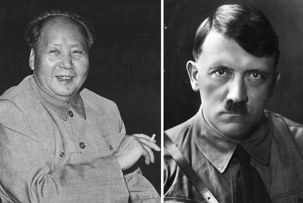 Mao Trạch Đông và Hitler tự mình đặt ra những tiêu chuẩn về đạo đức dựa trên quan điểm chính trị của bản thân, góp phần làm thay đổi trật tự xã hội, khiến cho giá trị tốt xấu bị đảo lộn.