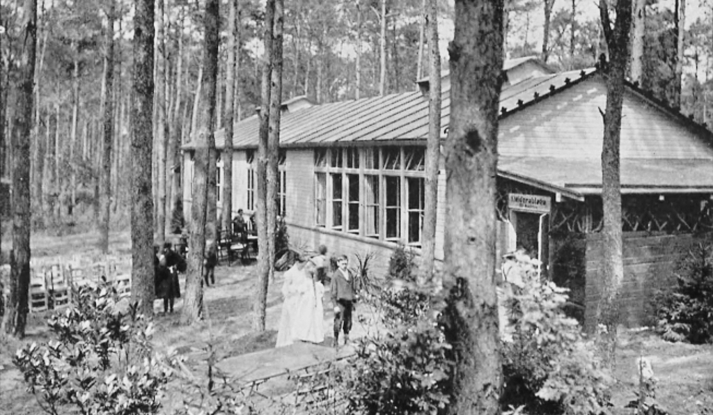 In Charlottenburg, near Berlin, students with tuberculosis attended the <em>Waldschule für kränkliche Kinder </em>(translated: Forest school for sickly children).