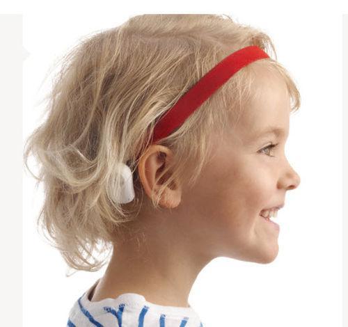 Prótese de condução óssea processador tipo caixa - Ponto - Oticon -  removível / infantil