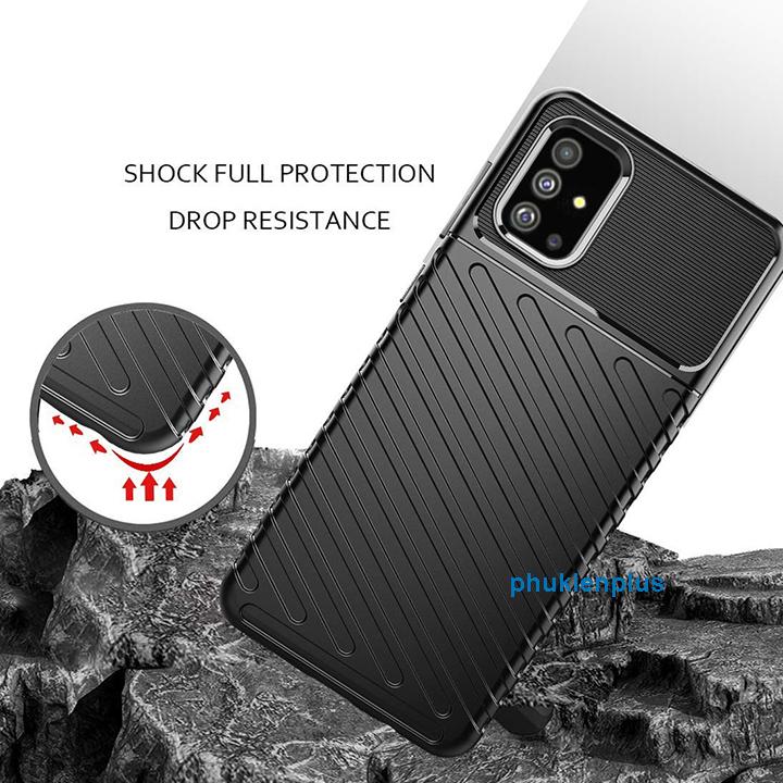 Thiết kế mới với ốp lưng Flim Carbon sang chảnh Samsung Galaxy A31 - 2