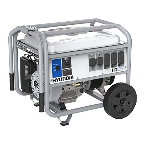 Hyundai HG6850 Portable Gas-Powered Generator