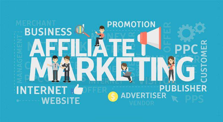 A picture showing Affiliate Marketing.
