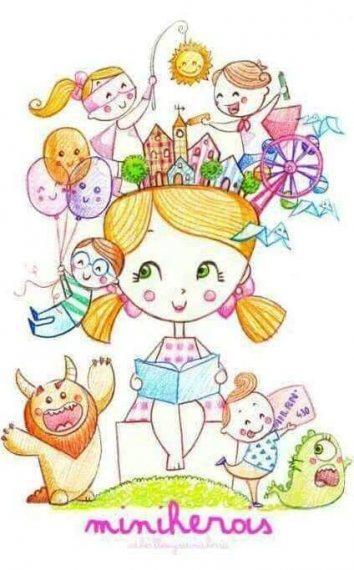 Boceto de la falla infantil de Blanquerías 2016