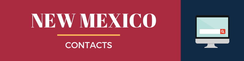 New Mexico Sales Tax Contacts