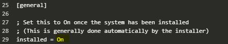 ojs upgrade setting