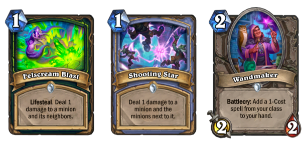 Felscream Blast Demon Hunter & Darkmoon Faire card