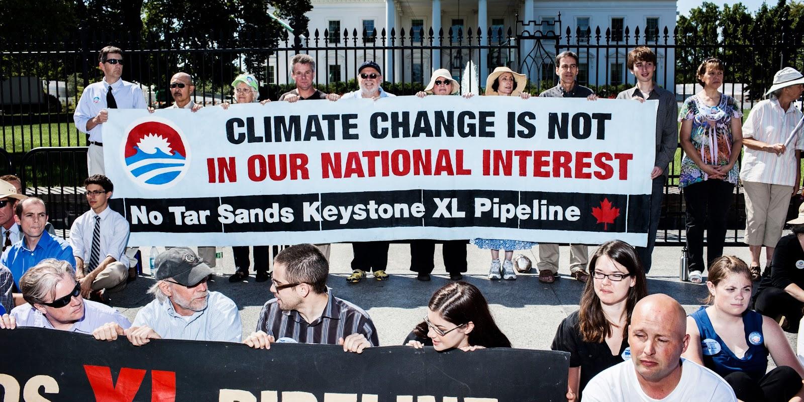 NO Tar Sand Keystone XL Pipeline