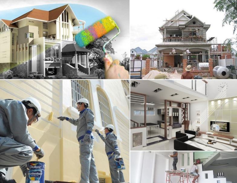 Cần lựa chọn đơn vị uy tín để sửa chữa nhà