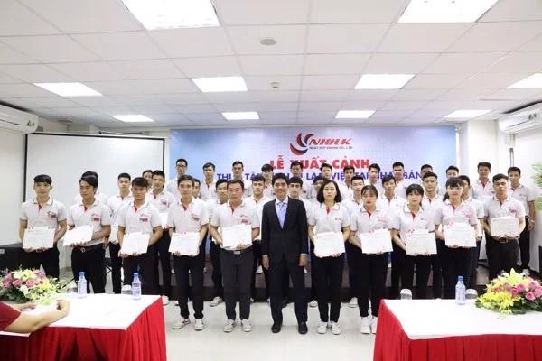 Nhật Huy Khang với chương trình thực tập sinh kỹ thuật Nhật Bản