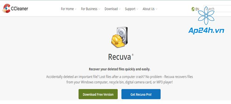 Cách khôi phục dữ liệu khi đã xóa vĩnh viễn hoặc format trên USB