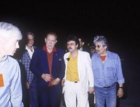 acques Erwan, Charles Trenet, Daniel Colling, Maurice Frot, Printemps de Bourges 1987
