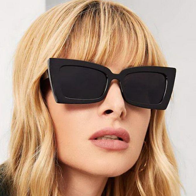 Foto der Frauensonnenbrille