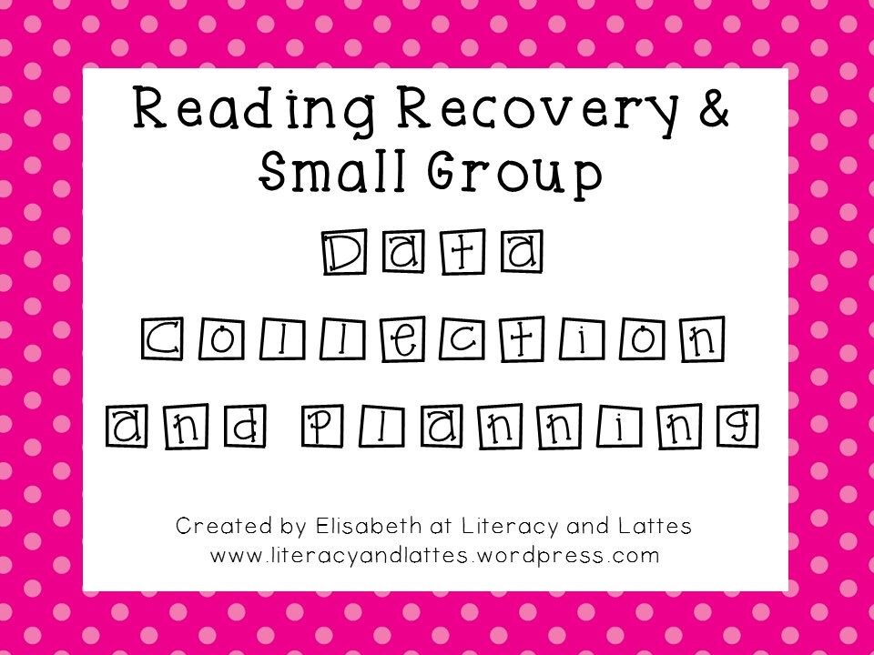 Reading Recovery Forms Packet - PDF.jpg