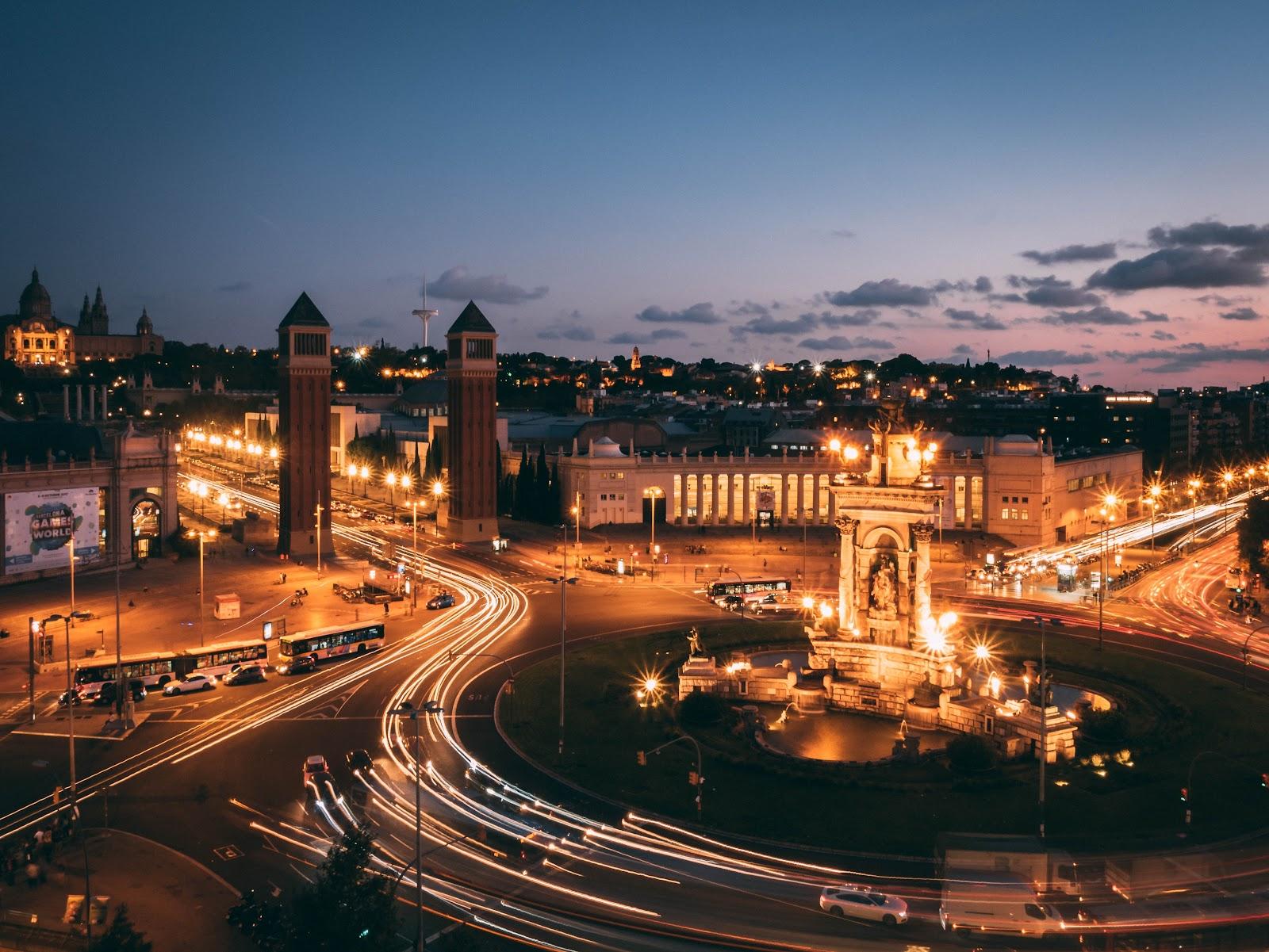 Ver Plaza de España Barcelona