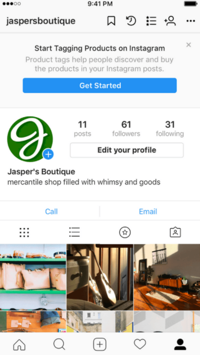 d4161c38 Once you've been approved, you will receive a notification letting you know  you're ready to start selling on Instagram.