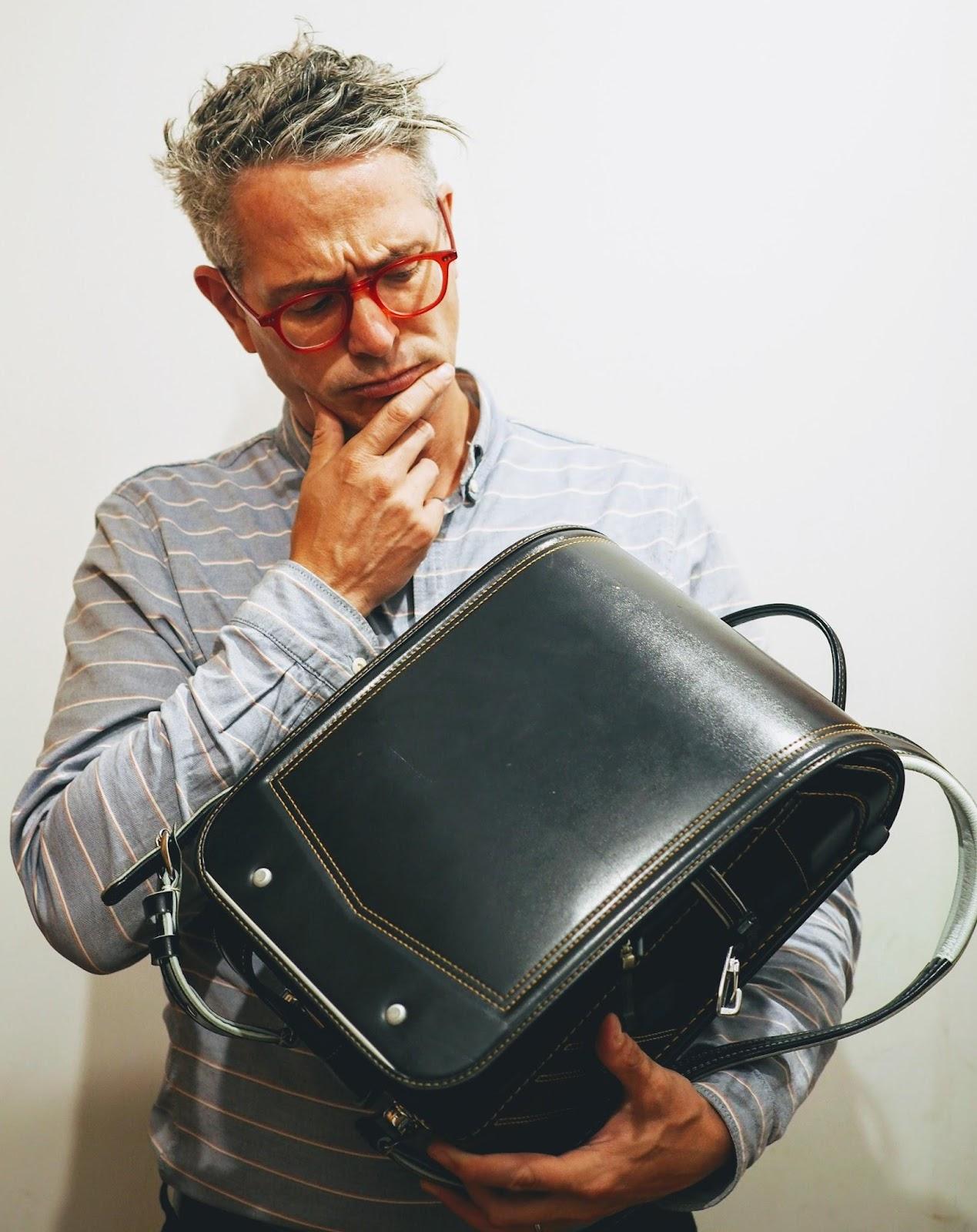 Contemplating the randoseru backpack
