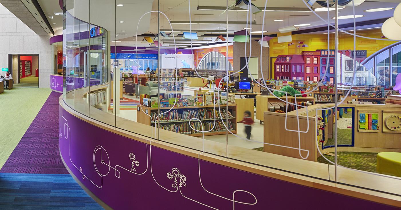 boston public library children's room