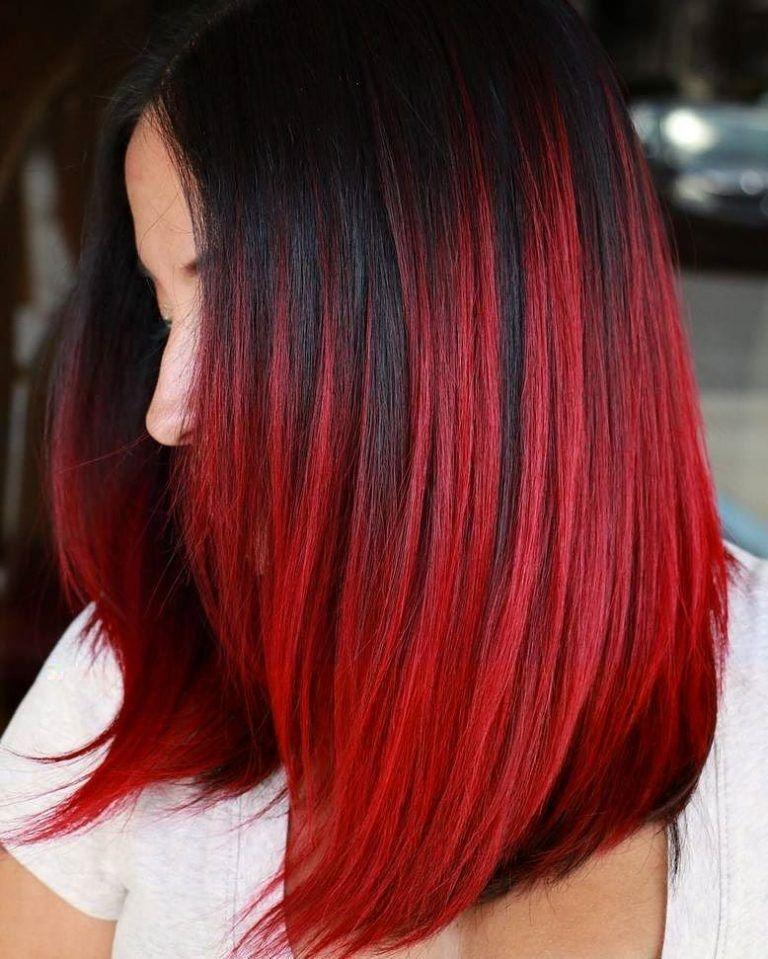The Red Weave Hairstyle