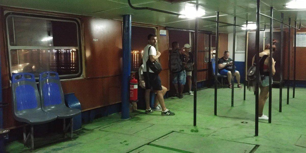 船費七仙的夏灣拿海口渡輪