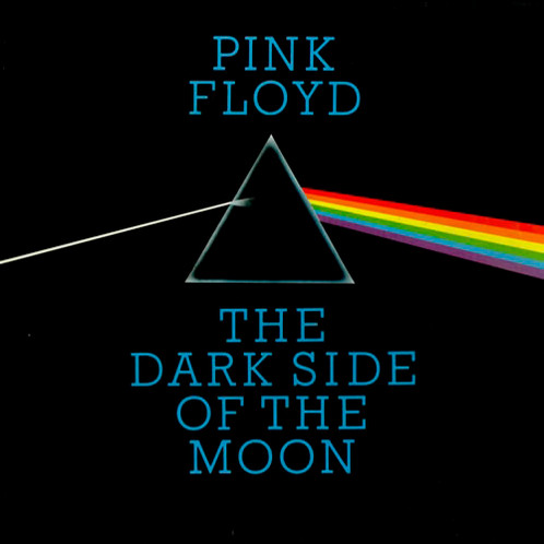 "portada de Pink Floyd ""The dark side of the Moon"""