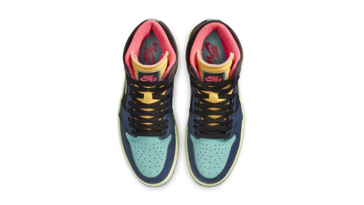"""Air Jordan 1 High Tokyo Bio Hack"" Air Jordan หลากสีหลายอารมณ์ 02"