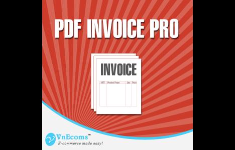 custom PDF invoice Magento extensions