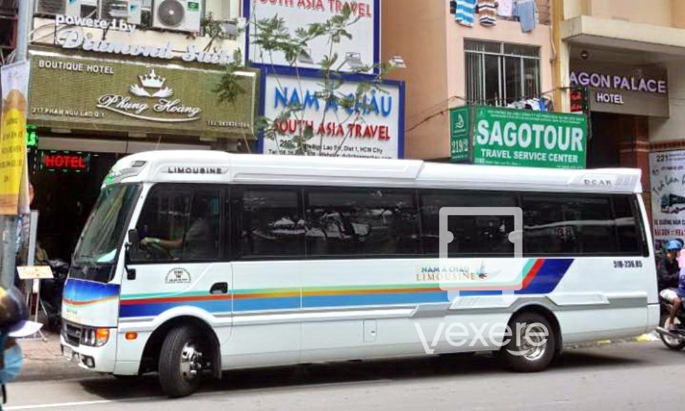 Nam Á Châu Limousine Sài Gòn đi Mũi Né