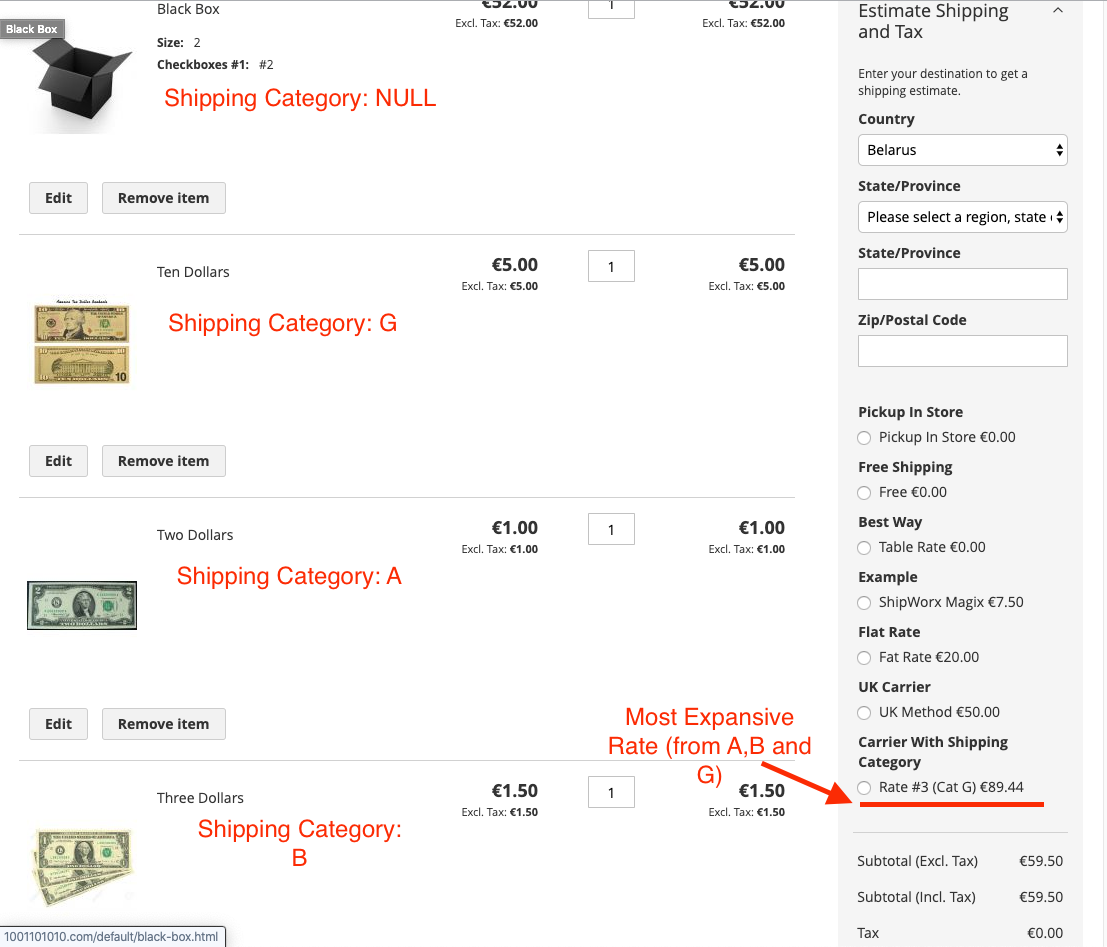 How to Add Custom Product Attribute as a Filter for the Shipping Rates | MageWorx Blog