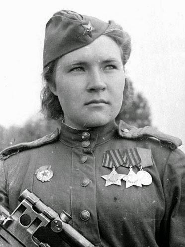 Советские женщины снайперы