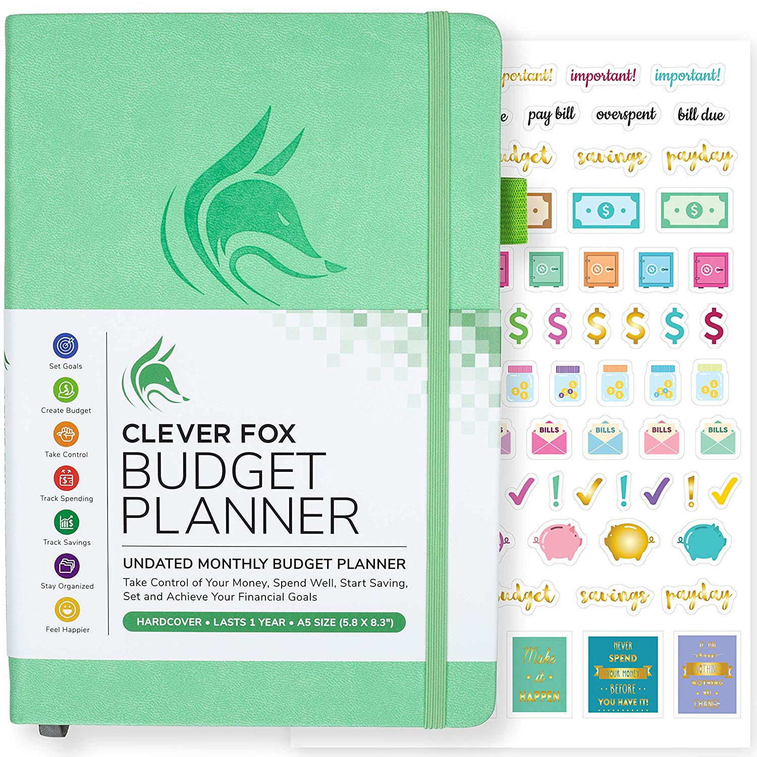 Save money grocery shopping by budgeting for it in your budget planner!