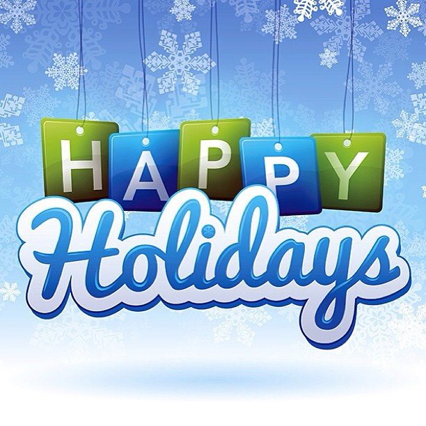... Happy holidays to all!