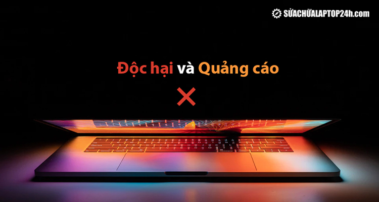 Loại bỏ quảng cáo và diệt virus cho MacBook