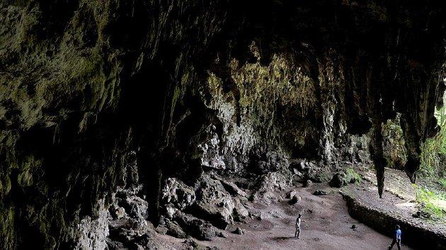 Situs Liang Bua di Manggarai, Nusa Tenggara Timur, Sabtu (17/1/2015). Di sini ditemukan Homo floresiensis pada 2003.